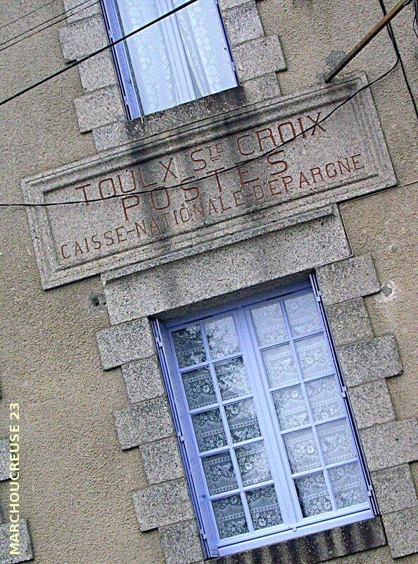 bureau de poste de Toulx-Sainte-Croix