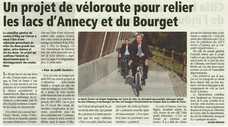 Velo Annecy Aix