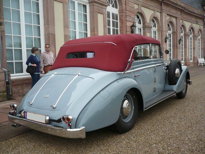 MAYBACH SW 38 cabriolet 4portes Spohn 1939 Schwetzingen (2)