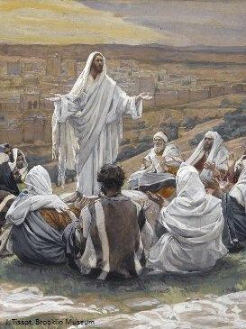 Jésus enseigne le Notre Père