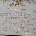 Clement gaston albert henri (thenay) + 10/09/1918 essigny-le-grand (02)