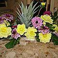 Côté fleurs......