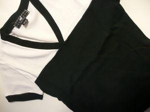 T_shirt_MC_V_noir_blanc_NafNaf_2