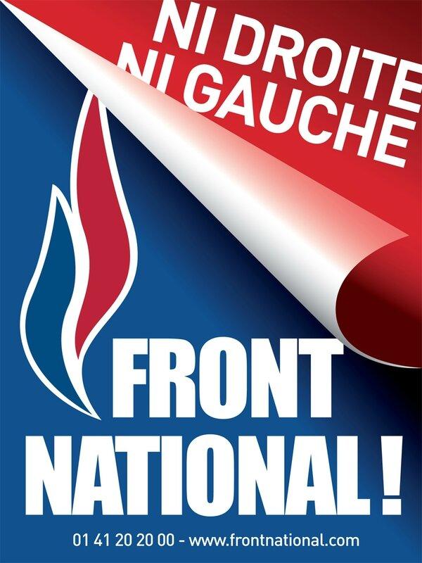 Affiche Ni Droite Ni Gauche