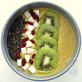 Smoothie bowl mangue coco