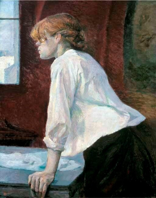 Lautrec_Laundress