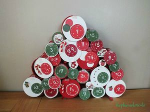 advent calendar diy, advent calendar craft