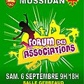 Forum des associations de mussidan >>> samedi 6 septembre 9h / 18h
