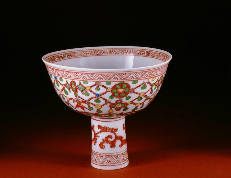 Stem cup, Ming dynasty, middle of 16th Century
