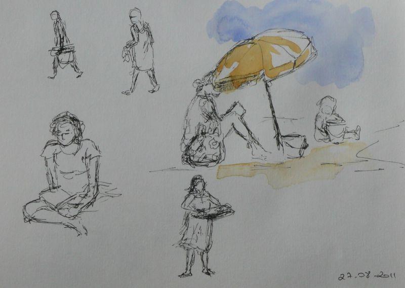 13-Les Saintes Maries de la Mer - plage -3
