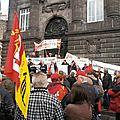 Manif de la CNR Clermont Ferrand 3/03/2012