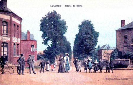 AVESNES-Route de Sains