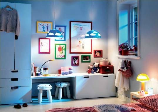 Muebles infantiles en ikea decoraci n infantil cuadros for Muebles billy ikea
