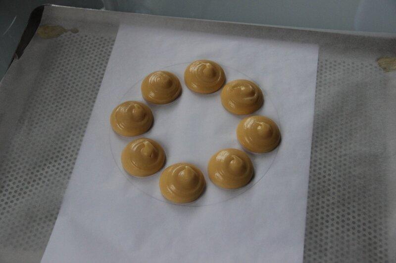 Dressage pâte à choux 1