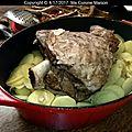 Gigot brayaude (recette paysanne auvergnate)