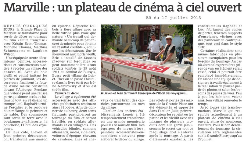 17-07-2013 Tournage Marville