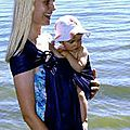 Porter bébé quand on pratique l'hygiène naturelle infantile hni : watersling et tonga