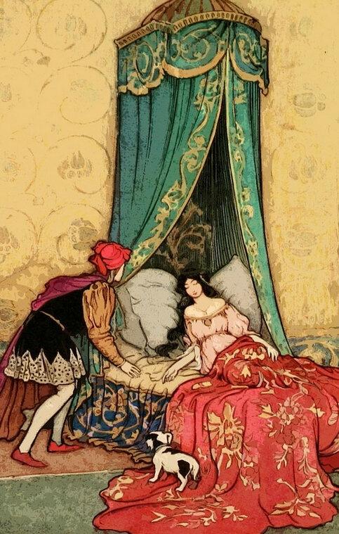 éveil par le prince charmant