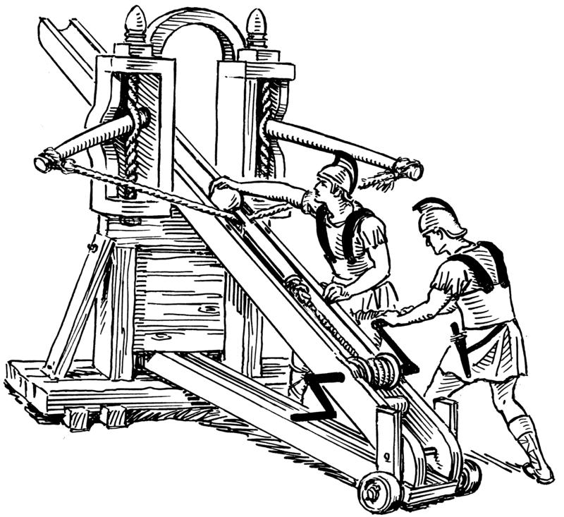 arme romaine baliste