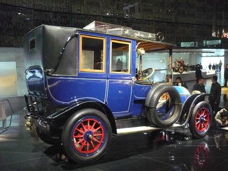 BENZ 20-30 PS Landaulet 1909 Stuttgart (2)