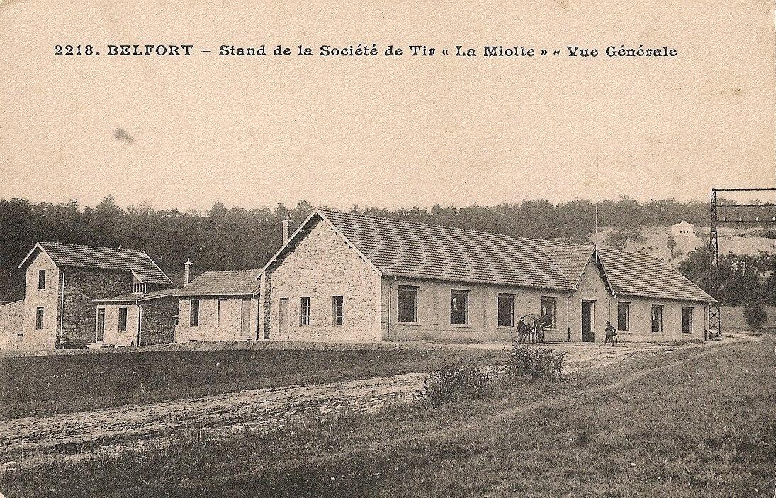 Le 1er Stand de tir à Belfort, La Miotte