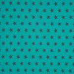 popeline bleu canard étoiles anthracite