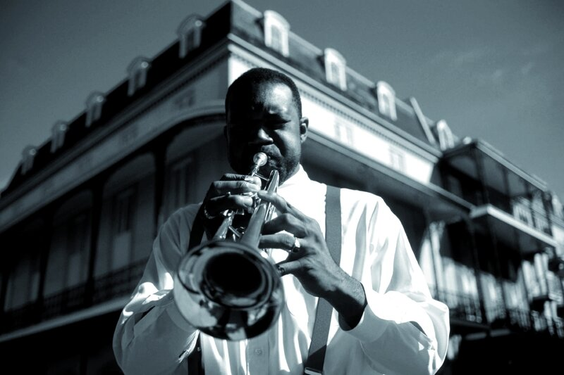 Trompettiste-blues-Nouvelle-Orleans