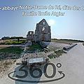 Ancienne abbaye notre-dame de ré, dite des châteliers - fouille emile atgier