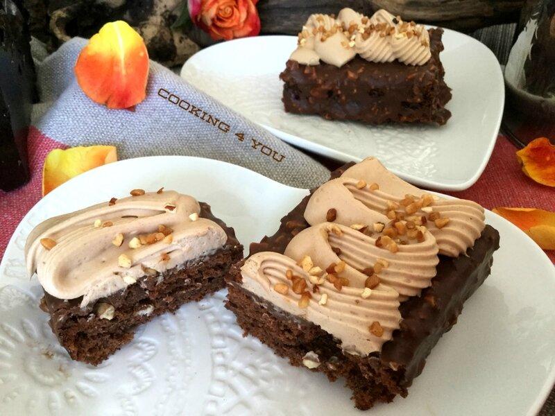 gâteau moelleux choco pralin 070