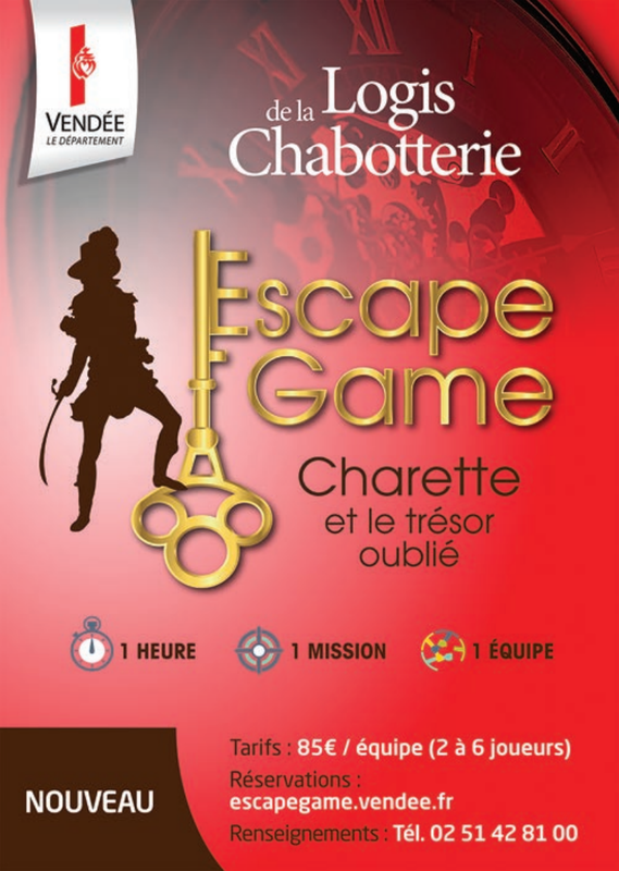 Escape-game la Chabotterie