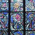 Les vitraux de l'église de mézières le 10 juillet 2017 (3)