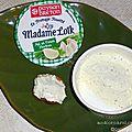 Fromage fouetté ail et fines herbes madame loïk de paysan breton : la dégustation