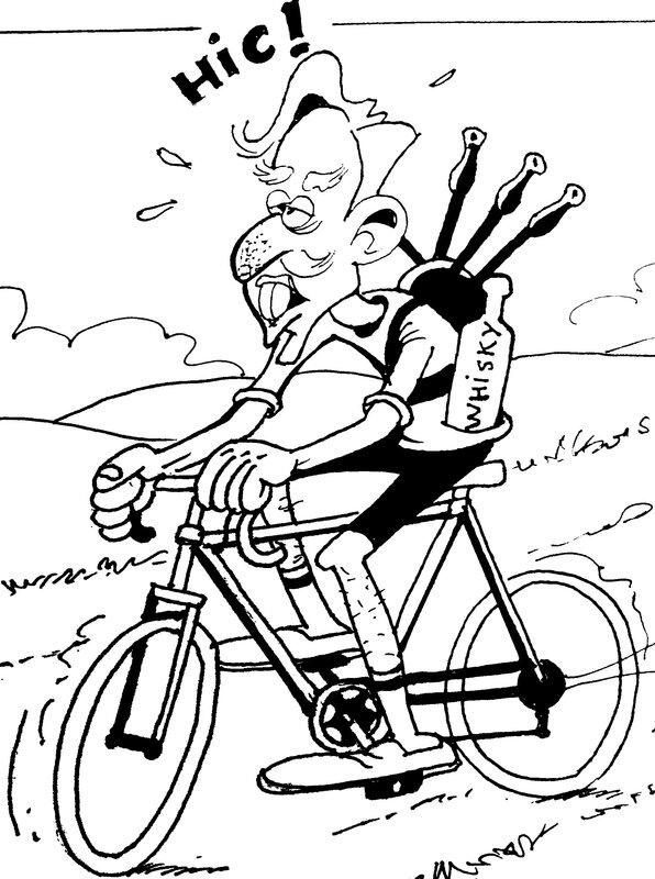K5 Macadam sur vélo plus resséré