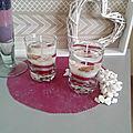 Bougies en gel avec inclusions en porcelaine froide pour la boutique éphémère
