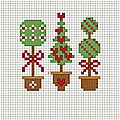 Alberelli di natale - christmas mini trees- petits sapins de noel