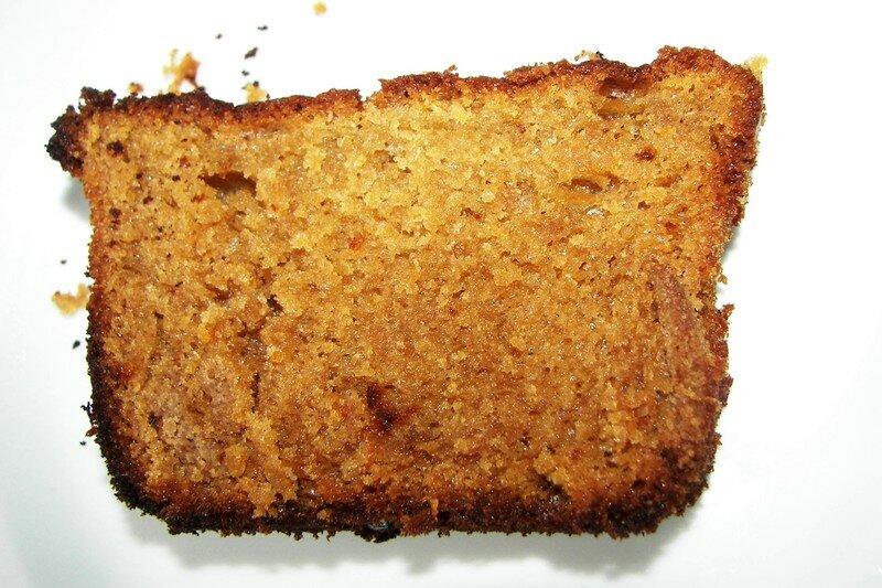 Cake au miel et au café de Danielle