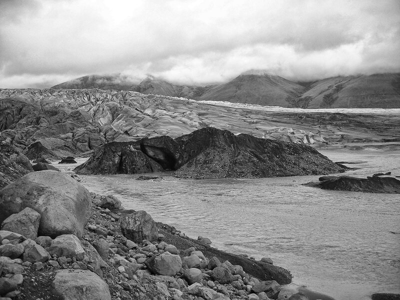 glacier islandais