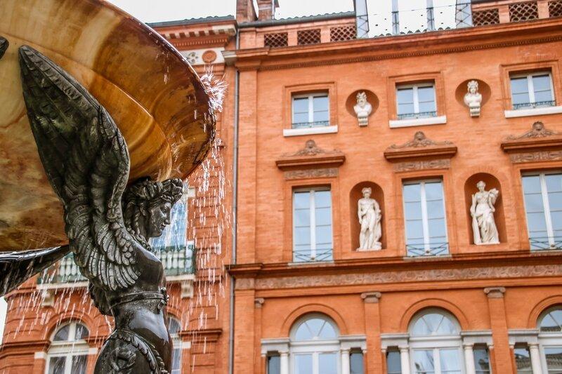 La fontaine et la maison Lamothe