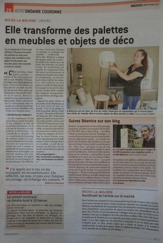 Article La tribune Le Progrès