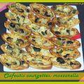 Clafoutis courgettes mozzarella