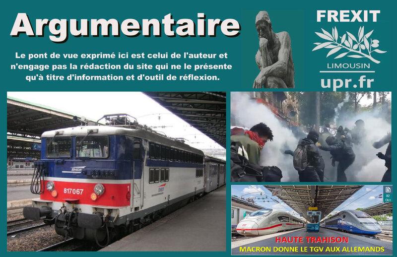ARG SNCF MACRON LUTTE