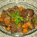 Boeuf bourguignon (weight watchers)