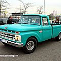 Ford f100 custom cab de 1965 (rencard burger king avril 2014)