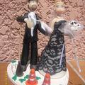 figurine à gateau mariage