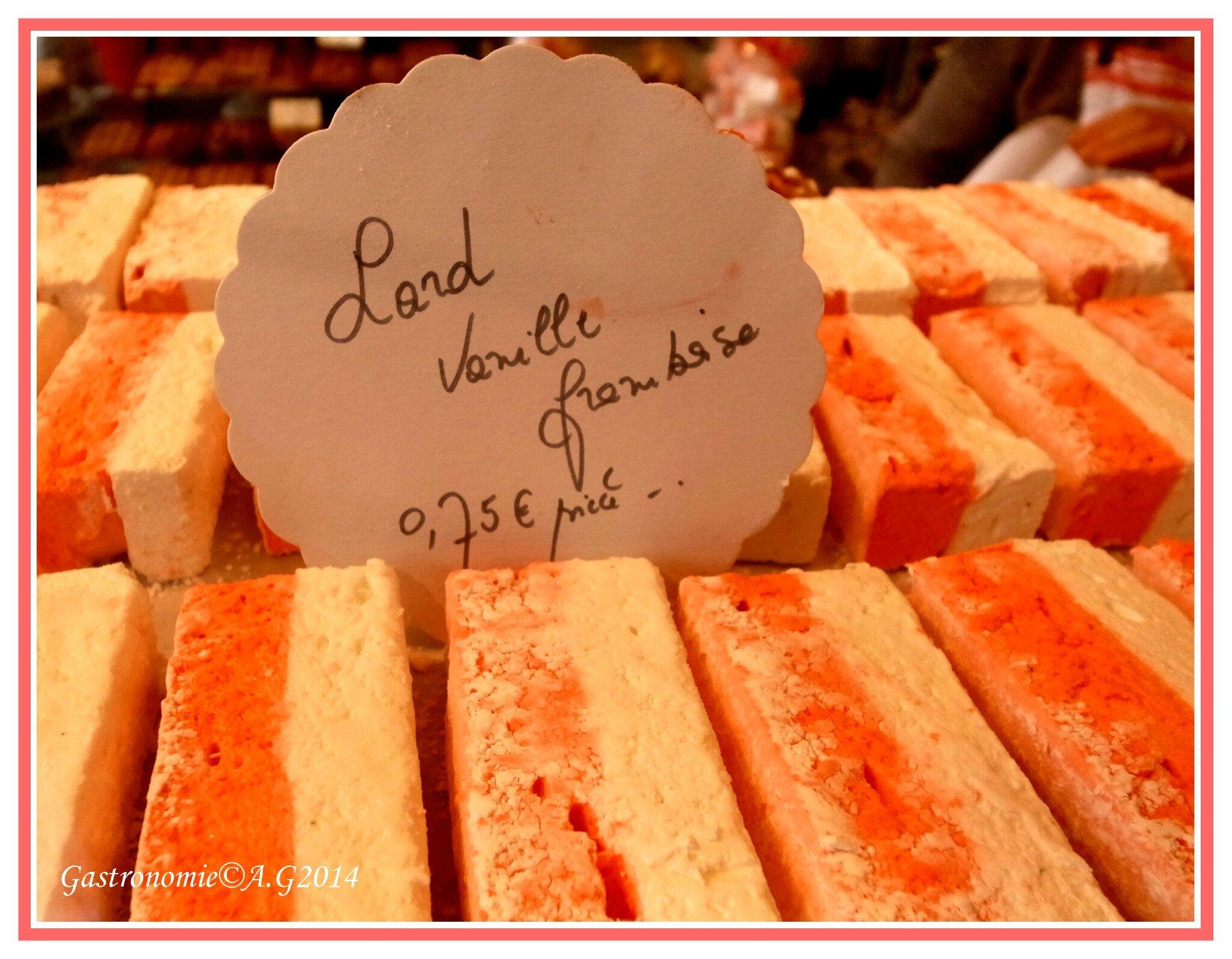 Guimauve à la Vanille & Framboises