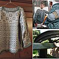 Marc's schoolhouse shetland pullover