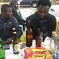 L'après-défense, Toussaint KOLONGO, Ghislain MUME et Cynthia KYALIKA, des amis
