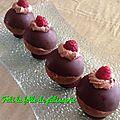 Sphère au chocolat