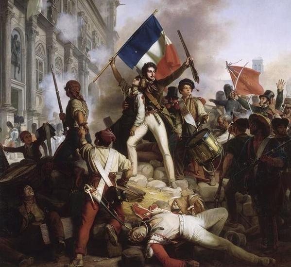 revolution_de_1830___combat_devant_l__hotel_de_ville___28