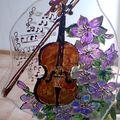 Un joli violon en Windows Colors